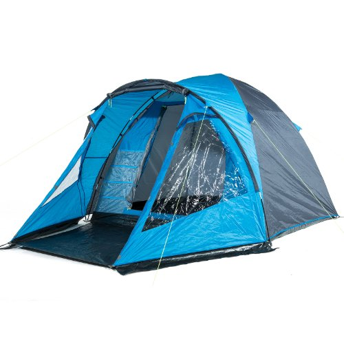 skandika drammen spacious dome tent - blue/black