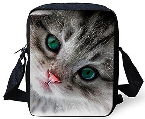 sac de messager enfants FOR U DESIGNS Animal chat bébé