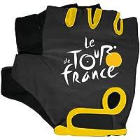 Tour de France–Guantes de bicicleta negro/amarillo