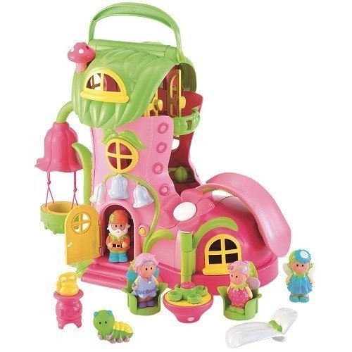 Early Learning Centre Spielfiguren und Rakete (Happy Land Carriage)