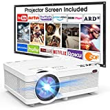 Build Your Home Theater: QKK Projector offers outstanding product performance and brings you a beautiful cinematic experience on your screen. Thanks to the QKK Projector, you will experience a fantastic cinematic experience with videos, music, gam...