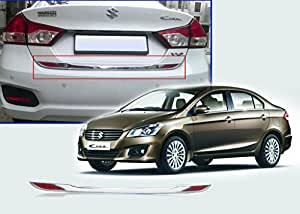 Auto Pearl - Rear Trunk Dicky Chrome Trim/Garnish Reflector For - Maruti Suzuki Ciaz