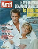 PARIS MATCH - FLAVIE FLAMENT BENJAMIN CASTALDI - 2830