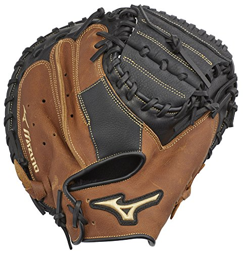 Mizuno gxc95y2Samurai Jugend Baseball Catcher 's Pad, 83,8cm Rechte Hand