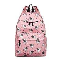 Miss LuLu Backpack Rucksack Travel Camping Print School Bags for Teenager Girls