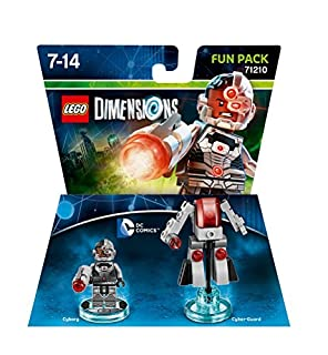 Figurine 'Lego Dimensions' - Cyborg - DC Comics (B00VJWS7Z8) | Amazon Products