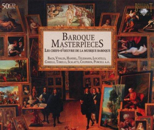 Baroque Masterpieces 50-CD/Wallet Media Wallet
