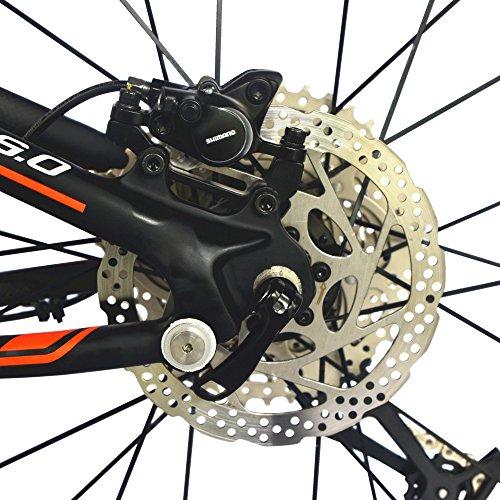 51Hn ySfTJL. SS500  - BEIOU Carbon Dual Suspension Mountain Bicycles All Terrain 27.5 Inch MTB 650B Bike SHIMANO DEORE 10 Speed 12.7kg T700 Frame Matte 3K CB22
