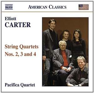 Elliott Carter - String Quartets Nos. 2, 3 & 4