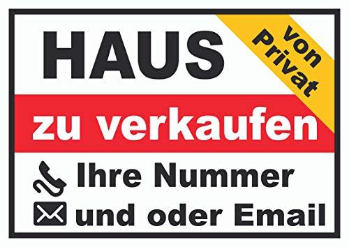 HB-Druck Haus privat Schild A2 (420x594mm)