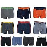 REMIXX Jungen Boxershorts Kids Pants Boys Shorts, 10er Pack (XXL/164-170)