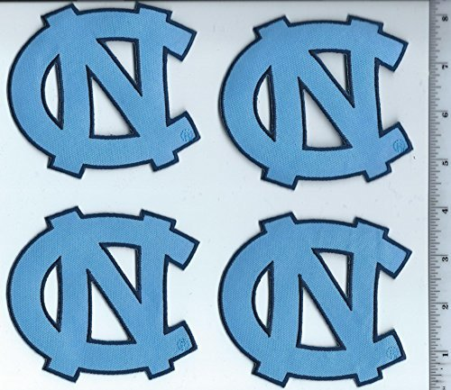 of North Carolina NC Logo 4 Patch Tarheels NCAA iron or sew on by National ()