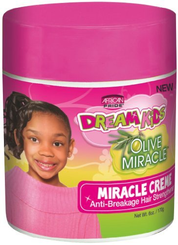 Afican Pride Dream Kids Olive Miracle Miracle Creme