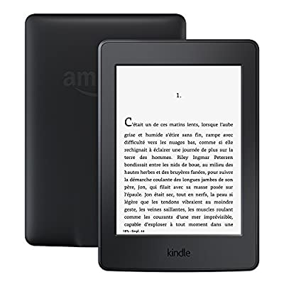 """Liseuse Kindle Paperwhite, Écran Haute Résolution 6"""" (15 cm) 300 ppp avec éclairage intégré"""