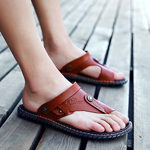 Xing LIN sandali uomo sandali uomo e sandali per sandali uomo Brown
