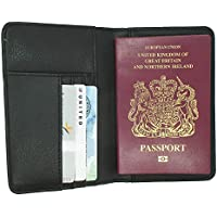 RFID Blocco Portafoglio in pelle o Porta documenti del passaporto