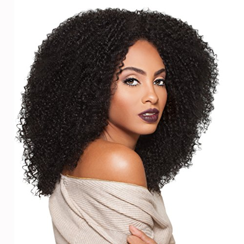 Lang Braun Afro Kinky Curly Perücken für schwarz Frauen Natürliche Haar Perücken für Afrikanische American Frauen Perücken (Afro Schwarz Haare)