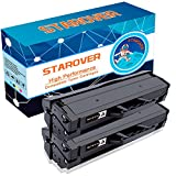 STAROVER 2x Kompatible Schwarze Tonerkartuschen Ersatz für MLT-D111S, D111S, 111S, MLTD111S Toner für Samsung Xpress SL-M2020 SL-M2020W SL-M2021 SL-M2021W SL-M2022 SL-M2022W SL-M2026 SL-M2026W SL-M2070 SL-M2070W SL-M2070F SL-M2070FW SL-M2071 SL-M2071W SL-M2071FH, 1000 Seiten / Schwarz Toner