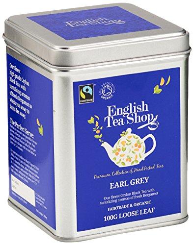 English Tea Shop – Earl Grey, BIO Fairtrade, Loser Tee, 100g Dose