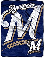 Au nord-ouest 1MLB-05900-0016-RET Triple Play - Brewers MLB Micro Rachel Throw