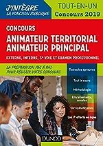 Concours Animateur territorial, animateur principal - Tout en un - Concours 2019 - Externe, interne, 3e voie et examen professionnel de Sandrine Dumont