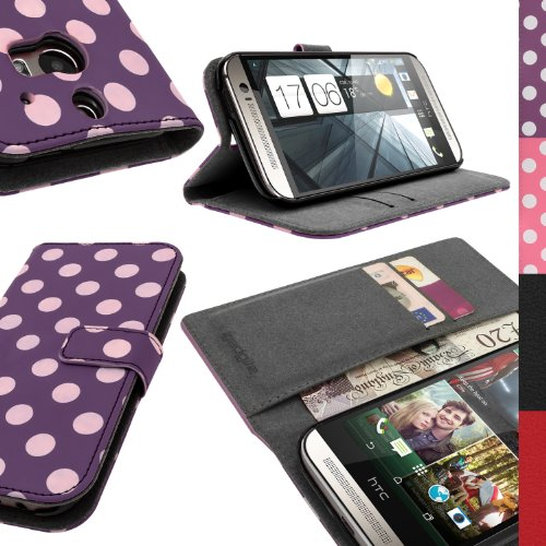 iGadgitz Vintage Collection - fundas para teléfonos móviles Púrpura, Color blanco