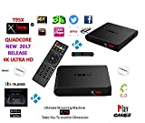 Android Tv Box T95X Xtreme 2017 LE Fully powered kodi 17.1 tv box kodi 2017 box spmc/xbmc ultimate streaming machine takes you to another dimension 4X CPU Marshmellow 6.0 AMLOGIC S905 cortex A53 64BIT 2Ghz Wifi 4K UHD H.265 Lan Bluetooth smart tv box quad