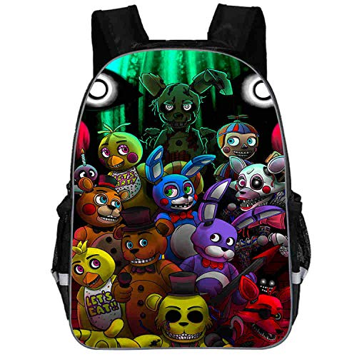 DouYuLike Unisex Game Mochilas Escolares Backpacks Adolescentes Libros  Satchel Daypack Five Nights at Freddy S Schoolbags Outdoor 384c4e5050db