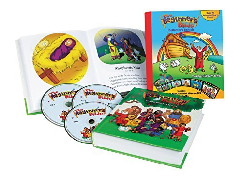Beginner's Bible Collector's Edition: Timeless Children's Stories; With Audio CDs and DVDs (The Beginner's Bible) by Zondervan (2014-10-07) (New Adult Dvd 2014)