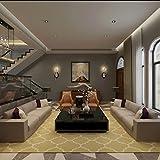 Love QAZ Handgefertigte Acryl Teppich Moderner, minimalistischer Wohnzimmer Teppich Kaffee Tisch Sofa Teppich Teppich Voller Shop (Farbe: #2, Größe: 1,2 * 1,7 m)