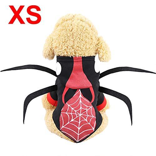 Familien Kostüm Einfache Motto - Motto.h Halloween Haustier Kostüme, Hund Katze Cosplay Kleidung Hunde Verkleidungen Pet Costumes Zum Hündchen Hund Katze, XS - L Supple