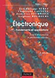 Image de Électronique. Fondements et applications - 2e éd. : Avec 250 exercic
