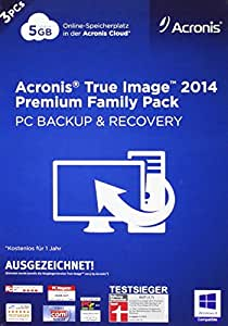 Acronis True Image 2014 Prem.Fam. Pack