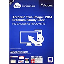 Acronis True Image 2014 Premium - 3PCs Family Pack [import allemand]