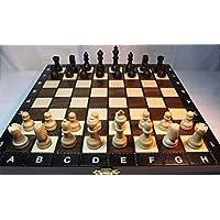 ChessEbook-Schachspiel-aus-Holz-27-x-27-cm ChessEbook Schachspiel aus Holz 27 x 27 cm -