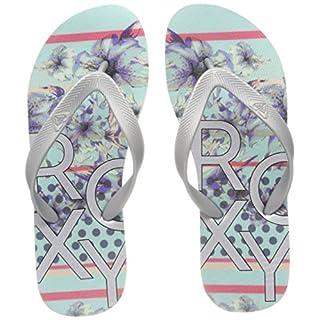 Roxy Women's Playa Flip Flops Mehrfarbig (Silver/Lagoon SVL) 7 UK