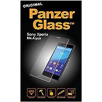 Panzer Glass PG1606 - Protector de pantalla de cristal resistente a rasguños y líquidos compatible con Sony Xperia M4 Aqua
