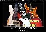 Rockgitarren im Blitzlicht (Wandkalender 2019 DIN A3 quer): Gitarrenschönheiten auf schwarzem Hintergrund eindrucksvoll in Szene gesetzt (Monatskalender, 14 Seiten ) (CALVENDO Kunst)