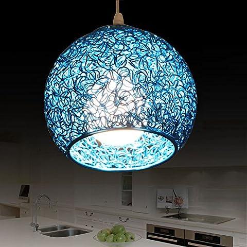 MEHE-Ristorante lampadario camera da letto moderna e minimalista in alluminio creativo