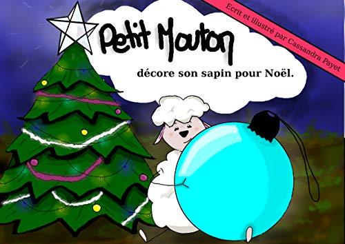 Petit Mouton Décore Son Sapin Pour Noël French Edition