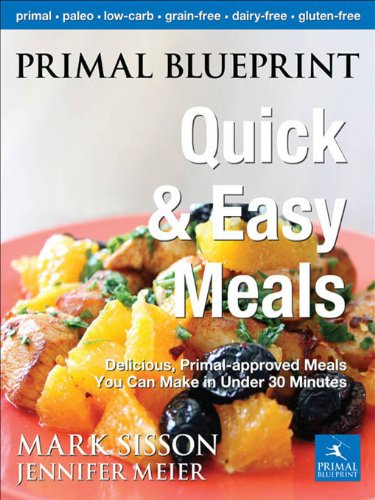 Primal blueprint quick easy meals delicious primal approved ahorra eur 1041 42 al elegir la edicin kindle malvernweather
