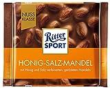 11x Ritter Sport - Nuss-Klasse Honig-Salz-Mandel - 100g