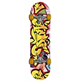 Gemgo 9 capas de arce skateboards robusto con el patrón del Doodle