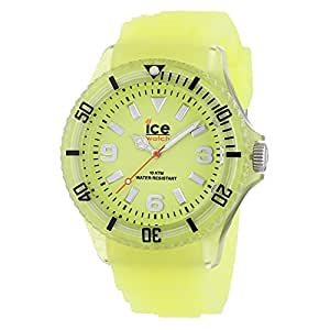 Ice-Watch Ice Glow Unisex-Armbanduhr Gelb Big GL.GY.B.S.11