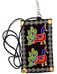 Shubh Shagun Women Girls Ethnic Mobile Pouch (Buy Any 5 Get 1 Free)