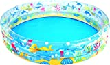 Bestway - Deep Dive 3-Ring Pool, Planschbecken 152 x 30 cm