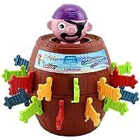 Vi.yo Juguetes Pirata del Barril Nuevos Juguetes Extraños Tricky Pirata Barril Espada Juego Juguetes de Rompecabezas de Escritorio de los Niños