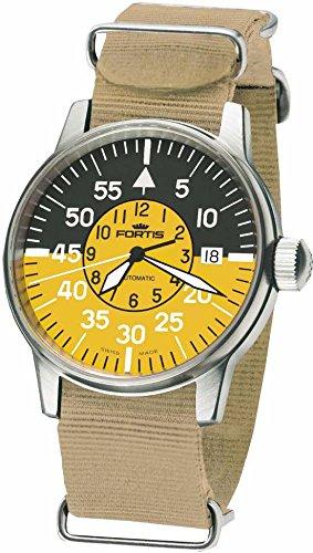 Fortis Flieger Cockpit 595.11.14N39 Reloj Automático para hombres Legibilidad Excelente