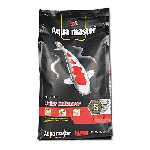 Aqua Master Color 5kg, 4mm Koifutter Teich Koi Fischfutter Empfehlung