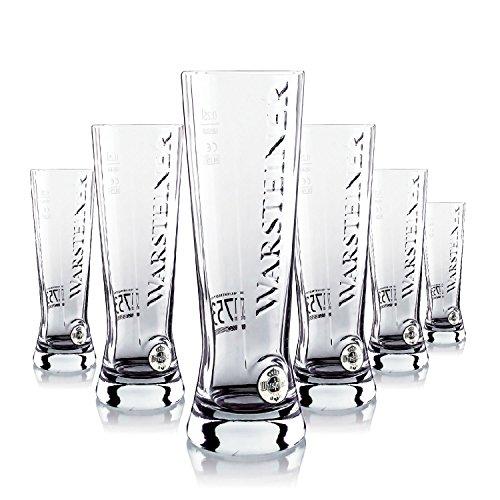 6-x-warsteiner-vetro-occhiali-025l-premium-bicchiere-da-birra-gastro-bar-decorativo